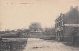 Glons - Avenue De La Gare (café Restaurant Hôtel Du Commerce, Edit. Dejardin, Animée) - Bassenge