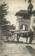 Straits, Malay Malaysia Perak, GOPENG, Rest House, Horse Cart (1910s) Postcard - Malaysia