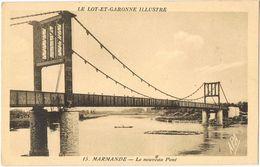 28180. Postal MARMANDE (Lot Et Garonne). Le Nouveau Pont - Marmande