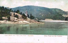 28182. Postal WEST POINT On The HUDSON, Lighthouse. Faro - NY - New York