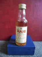 MIGNONNETTE WHISKY JOHN HAIG Red Label Old Scotch Mini Bottle Collection 5cl Pour 40% Distillé En Ecosse - Miniatures