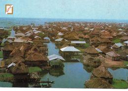 CARTE POSTALE .AFRIQUE. BENIN. GANVIE. - Benin