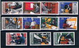 Liechtenstein , 1984 , Metiers , Jobs , Professions , 11 Stamps , Unused , ** - Jobs