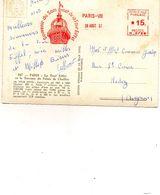 Souvenir....tampon  ..1957..voir 2 Scans - Eiffelturm