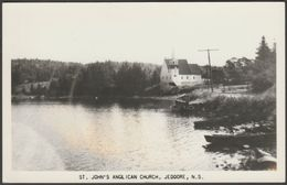 St John's Anglican Church, Jeddore, Nova Scotia, C.1940s - RPPC - Nova Scotia