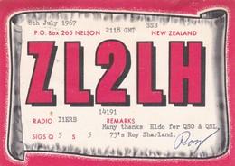 CARTOLINA - POSTCARD - NEW ZELAND RADIO AMATORI - Nuova Zelanda