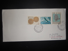 San Marin Lettre 1979 Pour Nanterre - Lettres & Documents