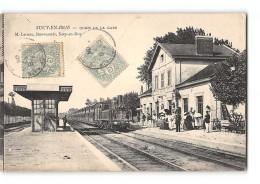 CPA 94 Sucy En Brie La Gare Et Le Train - Sucy En Brie
