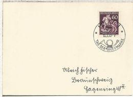 BOHEMIA Y MORAVIA 1943 MAT DIA DEL SELLO IGLAU - Bohemia Y Moravia