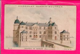 Image Chocolat Guerin Boutron 10,5 X 7 Cm Chateau De Serrant - Vieux Papiers