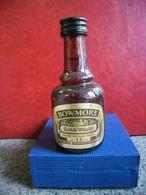 MIGNONNETTE WHISKY BOWMORE Old Scotch Mini Bottle Collection 5cl Pour 40% Distillé En Ecosse Morisson's Islay - Miniatures