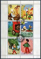 ( CL 1322 B) Sharjah Ob Michel N° 1258 à 1263 En Petite Feuille - Pinocchio - - Sharjah