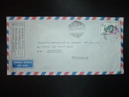 LETTRE Par Avion Pour La France TP NACIONES UNIDAS 8 P OBL. HEXAGONALE 18 NOV 78 CORREO AEREO CARTAGENA - 1931-Aujourd'hui: II. République - ....Juan Carlos I