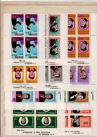 Hommage à Kennedy;grande Série Coloniale Complète De 10 Blocs;année 1964 - Africa (Other)