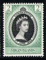 BRITISH VIRGIN ISLANDS 1953 - Set MNH** - British Virgin Islands