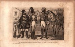 Italie - Caporal De Vétérans - Garde Noble Du Pape - Costume Sicilien - Estampes & Gravures