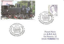 ITALIA - 2000 DOBBIACO-TOBLACH (BZ) 26° Filatelisti Ferrovieri (locomotiva Austriaca 1-2-0) - Giubileo 2000 - 3041 - Treni