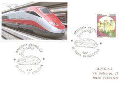 ITALIA - 1987 BOLOGNA 51^ Fiera Di Bologna - Locomotore ETR500 E Sigla Dopolavoro Ferroviario - 3042 - Trains