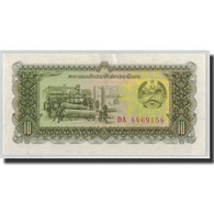 Billet, Lao, 10 Kip, Undated (1979), KM:27r, SPL - Laos