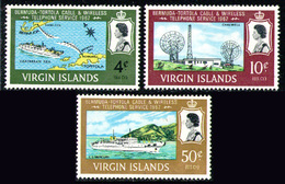 BRITISH VIRGIN ISLANDS 1967 - Set MH* - British Virgin Islands