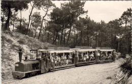 D33  CAP- FERRET  Le Petit Train Forestier  ..... - Arcachon