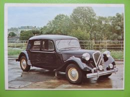 208 - Image Chocolat Poulain - Citroën 15 CV Traction Avant - 1951 - Musée De L'Automobile - Chocolate