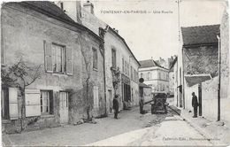 FONTENAY EN PARISIS - 95 -  Une Ruelle - DRO - - France