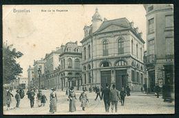 BRUXELLES - RUE DE LA REGENCE - Avenues, Boulevards