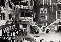 """CPA - VENEZIA - Campiello Del Teatro Goldoni E Il Ristorante """"Colombo"""" VENISE - Théâtre Goldoni Et Resto """"Colombo"""" - Venezia (Venice)"""