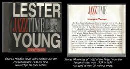 60 Minuten Jazz Von Lester Young - Jazz Of Finest - From 1938 To 1956 - Jazz