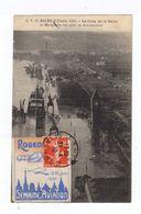 Rouen. 2 Février 1910. Crue De La Seine. Le Marégraphe Vue Prise Du Transbordeur. (2607) - Rouen