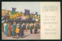 Finlandia. Helsinki. *Linnanmaki...* Circulada 1962. - Finlandia