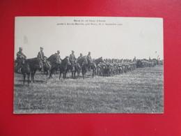CPA 54 ART SUR MEURTHE REVUE DU 20 è CORPS D'ARMEE SEPTEMBRE 1909 MILITAIRES - Other Municipalities