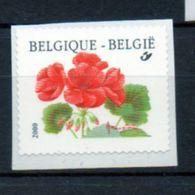 Année 2001 : 2977 ** - Timbre En Rouleaux - Géranium - Belgium