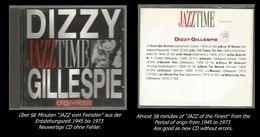 58 Minuten Jazz Von Dizzy Gillespie - Jazz Of Finest - From 1945 To 1973 - Jazz