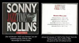 60 Minuten Jazz Von Sonny Rollins - Jazz Of Finest - From 1970 To 1984 - Jazz