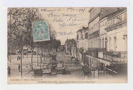 Villeneuve Sur Lot. Boulevards St Michel Et De La République. (2609) - Villeneuve Sur Lot
