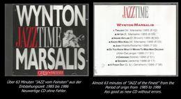 63 Minuten Jazz Von Wynton Marsalis - Jazz Of Finest - From 1985 To 1986 - Jazz