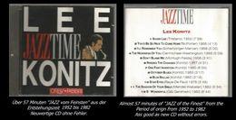 57 Minuten Jazz Von Lee Konitz - Jazz Of Finest - From 1952 To 1982 - Jazz