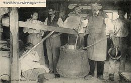 CPA - SAINT-MAURICE-sur-MOSELLE (88) - Ferme-Auberge-Métairie Du Rouge-Gazon En 1905 - Fabrication Du Fromage Munster - France