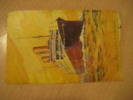 KUNGSHOLM Swedish American Line T.M.S. Kungsholm LYSEKIL 1930 To Kungalv New York DIRECT Gothenburg Post Card SWEDEN - Sweden