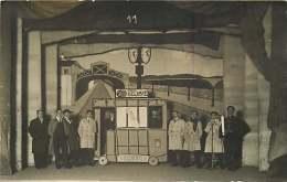 51 - 151215 - CARTE PHOTO  11 - CHALONS SUR MARNE - Ecole Nationale D'Arts Et Métiers -  Théatre Déguisement Train Gare - Châlons-sur-Marne