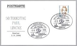 Compositor PAUL LINCKE (1866-1946) - Composer. Goslar 1996 - Muziek
