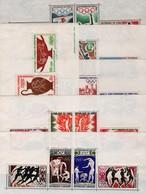 6 Blocs JO Des Colonies ;année 1964 - Otros - África