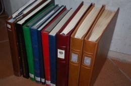 Fast 20 Kg Bund & DDR Gestempelt, Postfrisch In 10 Alben...320 Bilder  ....164 (F) - Timbres