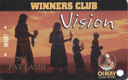 Ohkay Casino - San Juan Pueblo, NM - 3rd Issue Slot Card - Casino Cards