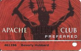 Casino Apache & Inn Of The Mountain Gods Casinos - Mescalero, NM - Slot Card - Casino Cards