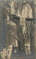 Tableaux -ref  A450 - Illustrateurs - Arts -tableaux -peinture- Peintre H Motte - La Cueillette Du Gui - Pittura & Quadri