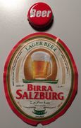 EGITTO  BIRRA  SALZBURG  ETICHETTA + CAPSULA  BEER BIERE - Birra