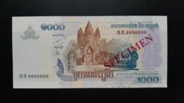 CAMBODGE / CAMBODIA/ 1000 Riels 2005 Specimen UNC - Cambodia